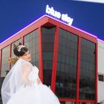 Bride in Art Center